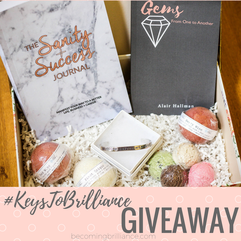 Becoming Brilliance Giveaway Brilliance Box
